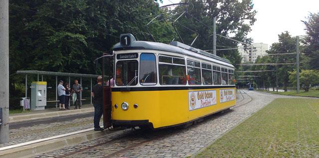 Historische Straßenbahnfahrt und Advensfeier am 9.12.2019